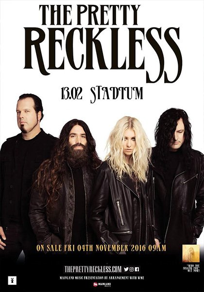 The Pretty Reckless 13 февраля Stadium