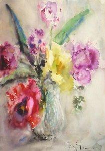 Выставка «Цветение в акварели»