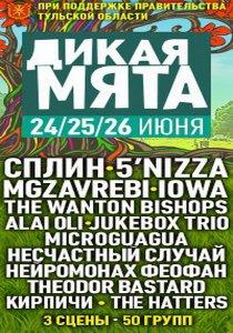 Международный world-rock-jazz фестиваль Дикая мята