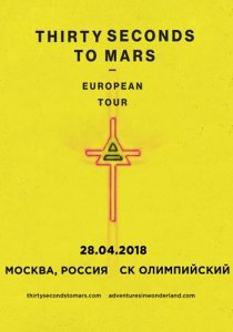 THIRTY SECONDS TO MARS // 28.04 // ОЛИМПИЙСКИЙ