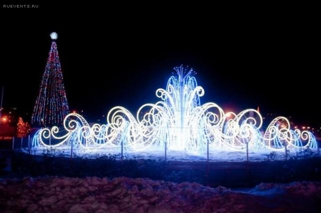 Москву украсят сказочными световыми фонтанами