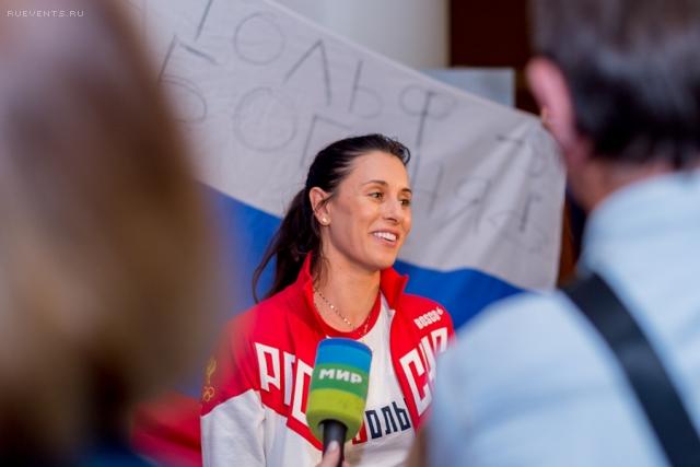 Верченова – из Рио в Москву!