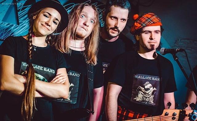 Интервью с группой Wallace Band