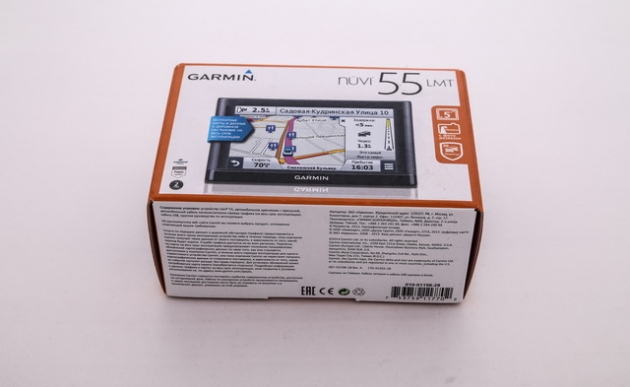Обзор навигатора Garmin nuvi 55LMT