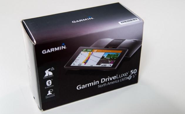 Обзор навигатора Garmin DriveLuxe 50 LMT