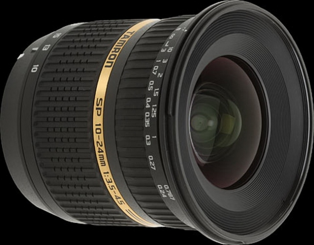 Обзор объектива Tamron SP AF 10-24mm f/3,5-4,5 Di II LD Aspherical (IF) Canon EF-S