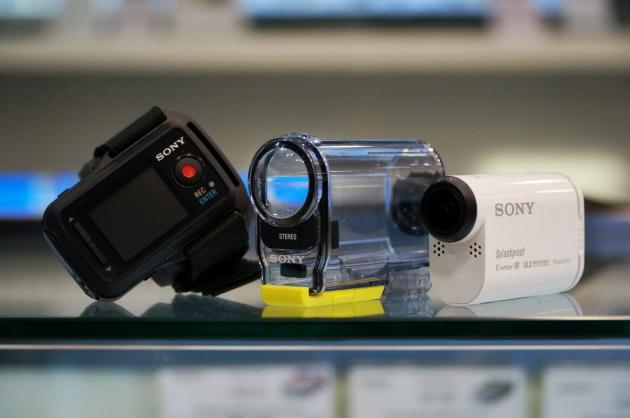 Обзор экшн-камеры Sony HDR-AS100VR