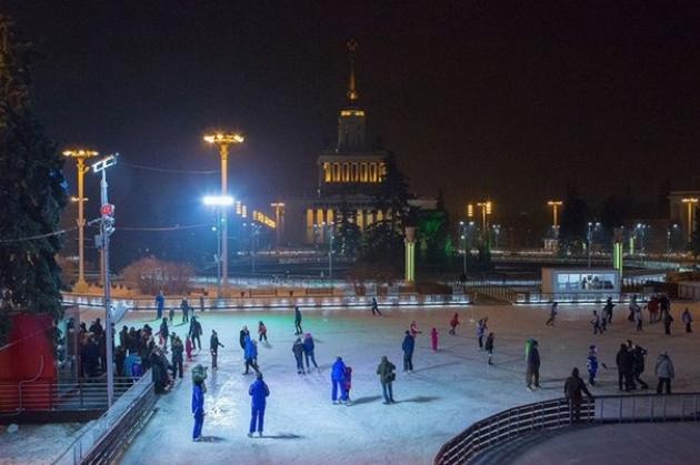 В московских парках начался зимний сезон
