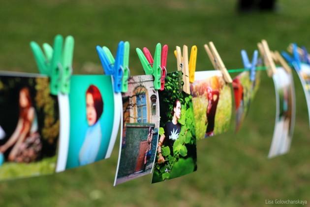 Фотовыставка на открытом воздухе: Фотосушка