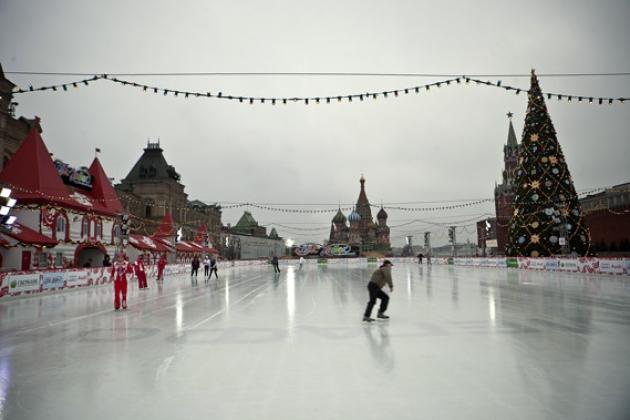 Катки в Москве, которые можно посетить бесплатно