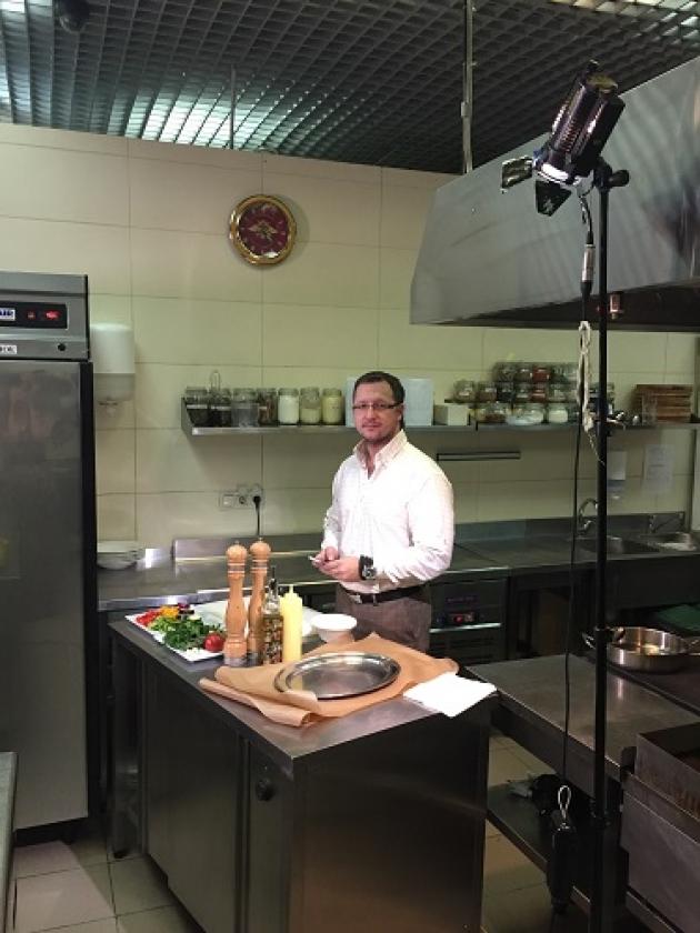 Известный ресторатор Андрей Грязнов станет звездой кулинарного шоу