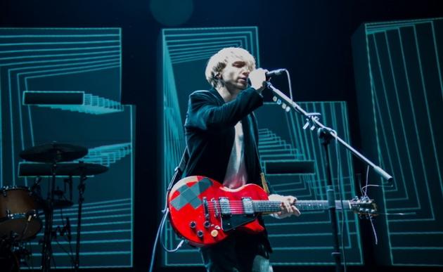 Фотографии с концерта группы Нервы в поддержку альбома Я Живой