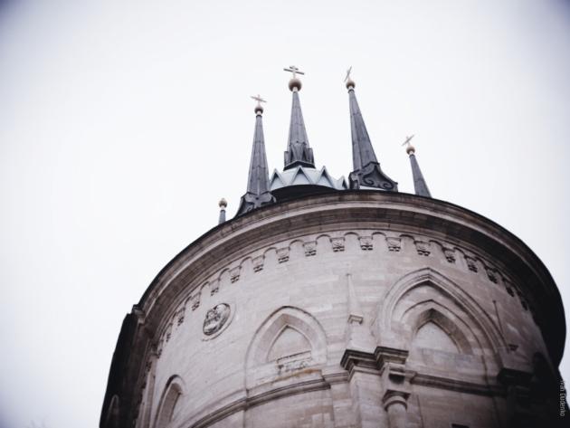 Поездка к Владимирской церкви в селе Быково