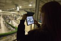 Музей истории пивоварения принял гостей в субботний вечер