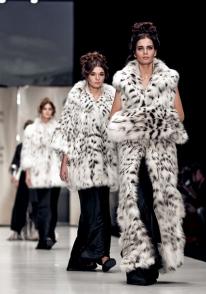 Меховой дом Julia Dilua представил новую коллекцию на Mercedes-Benz Fashion Week