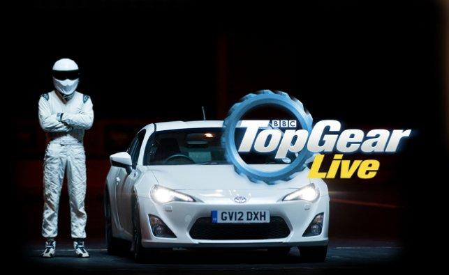 Джереми Кларксон и Top Gear Live снова в Москве!