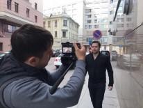 Виталий Гогунский снимает клип