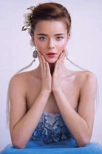 """Совместный показ BeretkAh…! и Svetlana Evstigneeva в рамках Недели Моды в Москве 28 октября 2017 года """"ICED FLOWERS"""""""