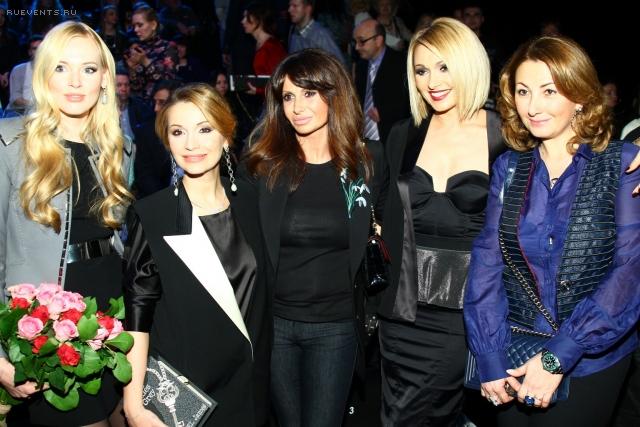 Знаменитости на Неделе моды в Москве