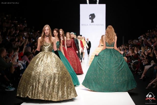 Роскошь царской России в коллекции Беллы Потемкиной в рамках Mercedes-Benz Fashion Week
