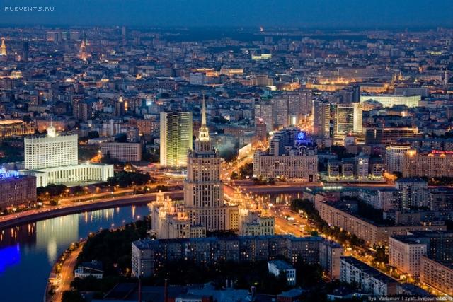 Экскурсии по крышам Москвы и не только