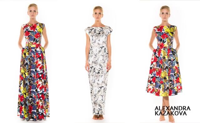 Модные принты лета 2013