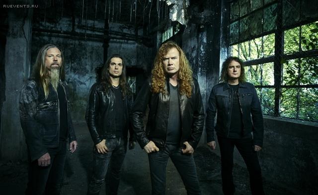 Интервью с Дэйвом Мастейном (Megadeth)