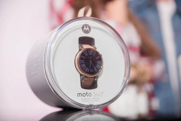 Презентация часов Lenovo Moto 360