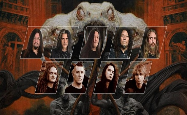 Testament, Annihilator и Lost Society в ГлавClub Green Concert