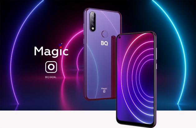 Обзор смартфона BQ-6424L Magic O