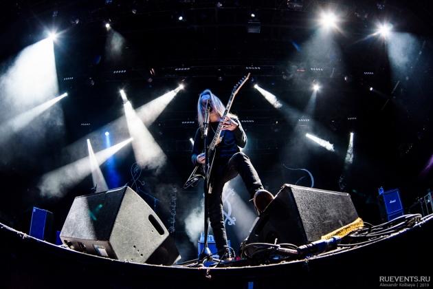 Как Children of Bodom в Стадиуме выступали
