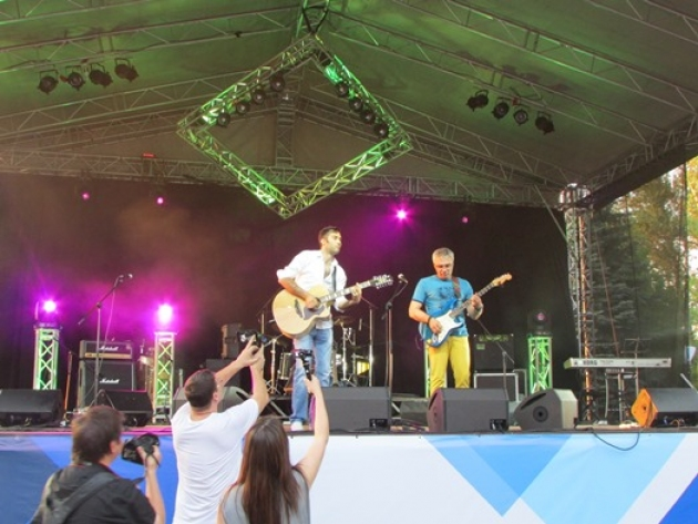 Фестиваль живой музыки RossiMusiсFest прошел в Кашире
