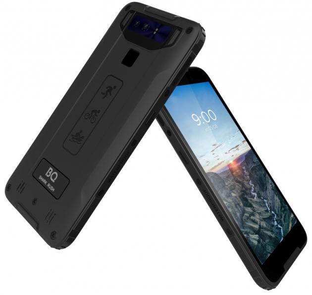 Обзор смартфона BQ 5541L Shark Rush