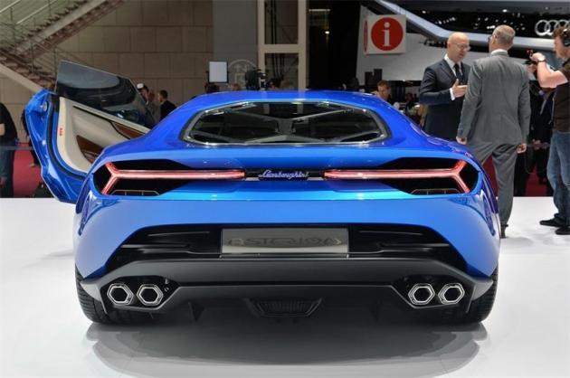 Новый Lamborghini Asterion LPI 910-4 (5 фото + 1 видео)