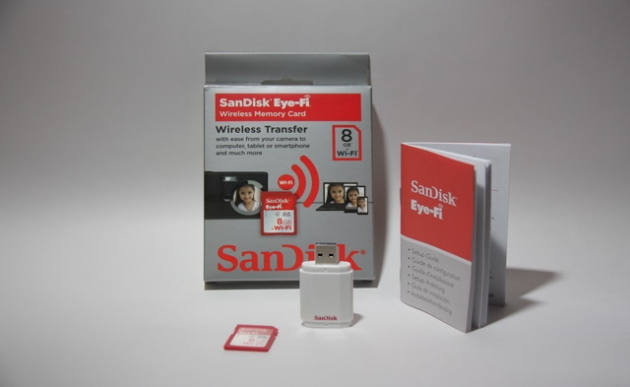 Обзор карты памяти SanDisk Eye-Fi 8GB