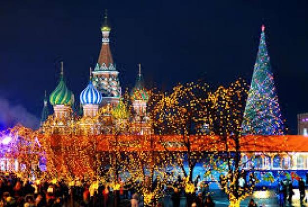 Встречаем Новый год в Москве