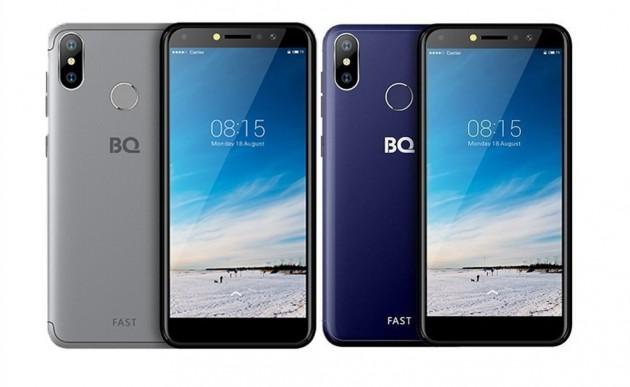 Обзор смартфона BQ 5515L Fast