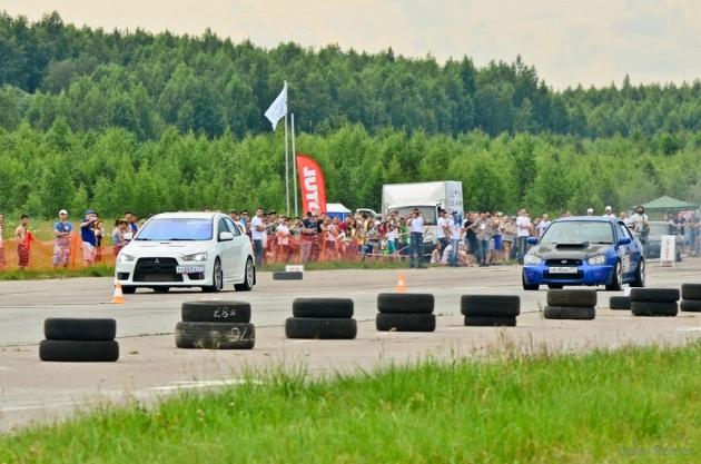Всероссийские автогонки в Рыбинске стали настоящим праздником экстрима