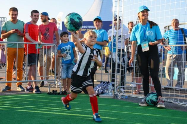 Первый в России фестиваль «Мир футбола» берет новые вершины