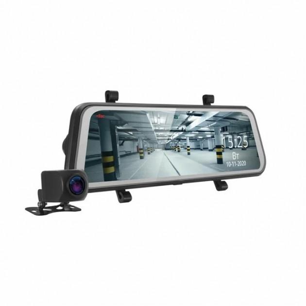 Обзор двухканального видеорегистратора-зеркала iBox UltraWide GPS Dual