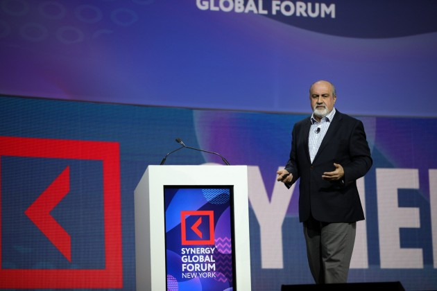 Нассим Талеб станет хедлайнером глобального онлайн-форума